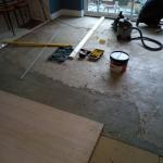 sub floor preparation work