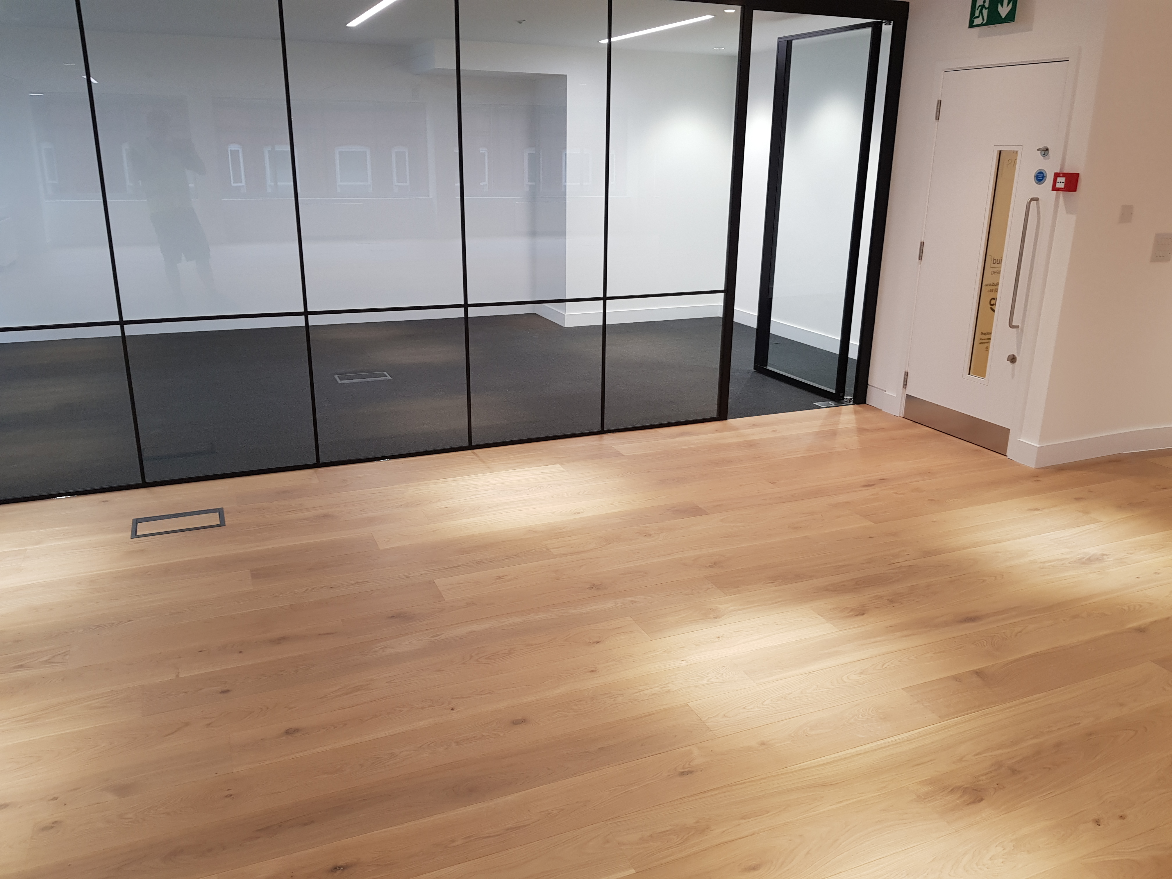 Havwoods engineered wood to a London office